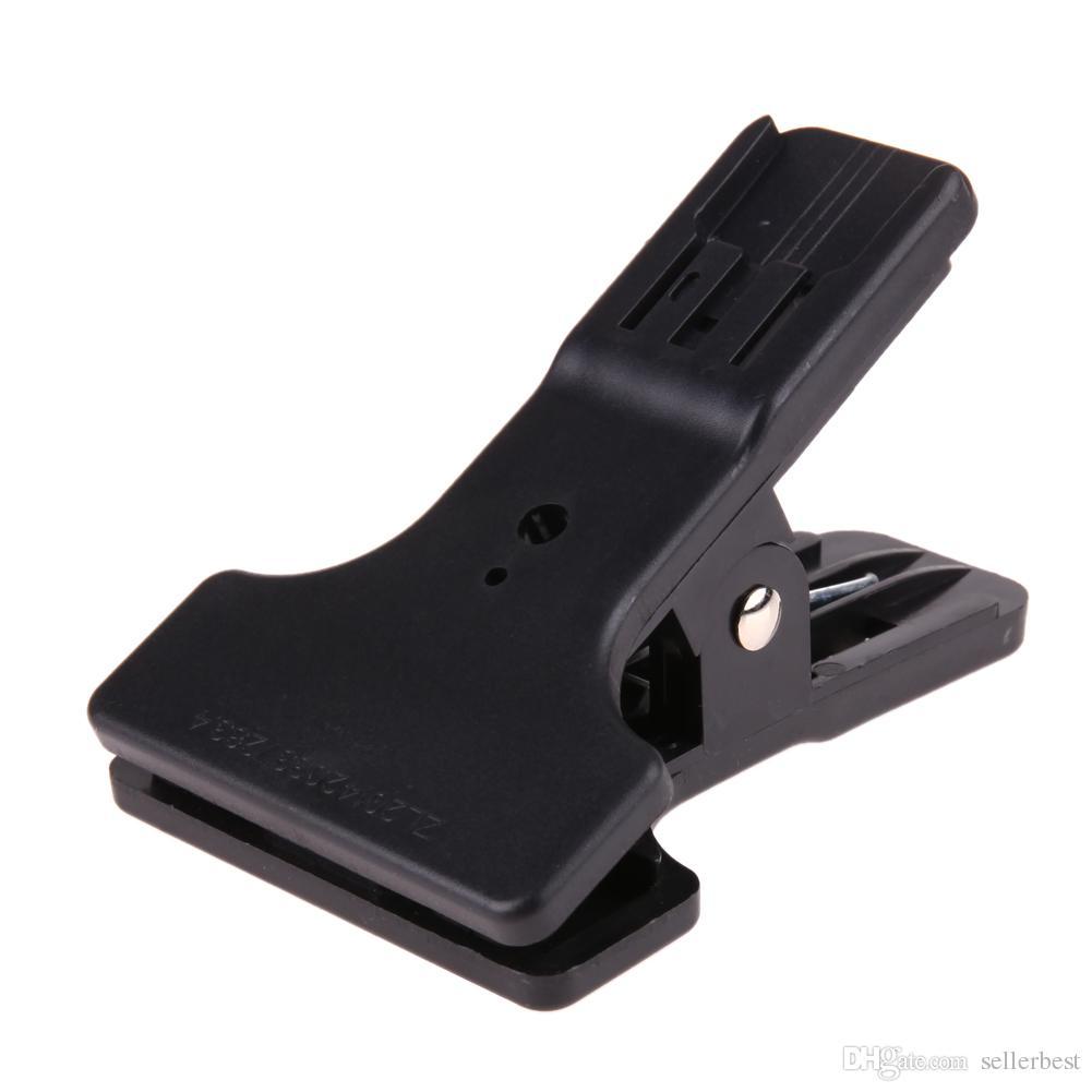 Hotshoe Clip Clamp Mount para Canon Nikon YongNuo Flash Speedlite Light LED Video light Table Mini Soporte para Flash