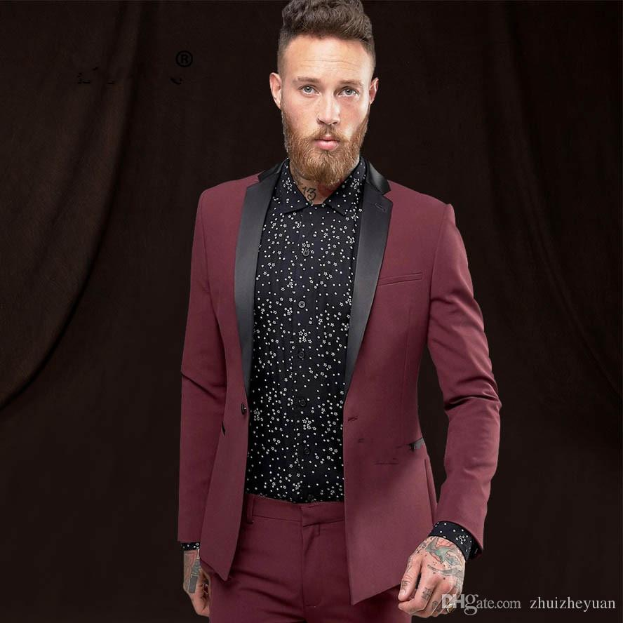 8e37878483 Latest Coat Pant Designs Men Wedding Suits Custom Made Groom Tuxedo Formal Men's  Suit Groom Wedding Suit (jacket+pant)