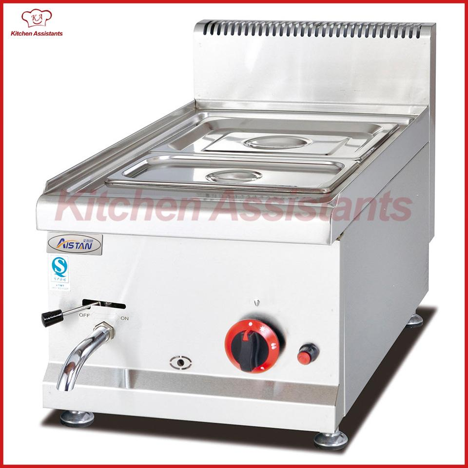 Gh534 Counter Top Commercial Vertical Gas Bain Marie Of Catering