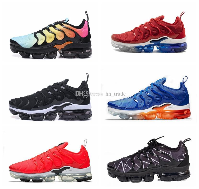 5c2ed51c324ee 2019 Men Designer Shoes TN Plus VM Game Royal Orange USA Running Shoes For  Men Trainers Women Luxury Brand Sports Sneakers Classic Outdoor Lightweight  .