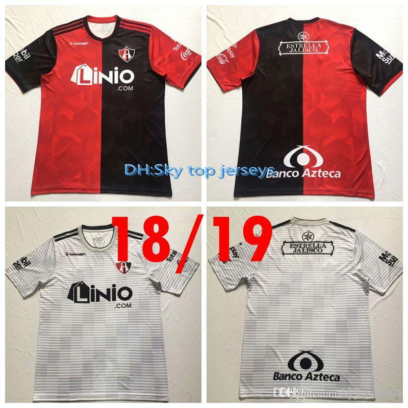 25dfbca37 2019 18 19 Atlas FC Home Soccer Jersey 2018 2019 Atlas FC Football Shirts  Rugby Jerseys 18 19 Atlas Football Rugby Jerseys From Skywar9999