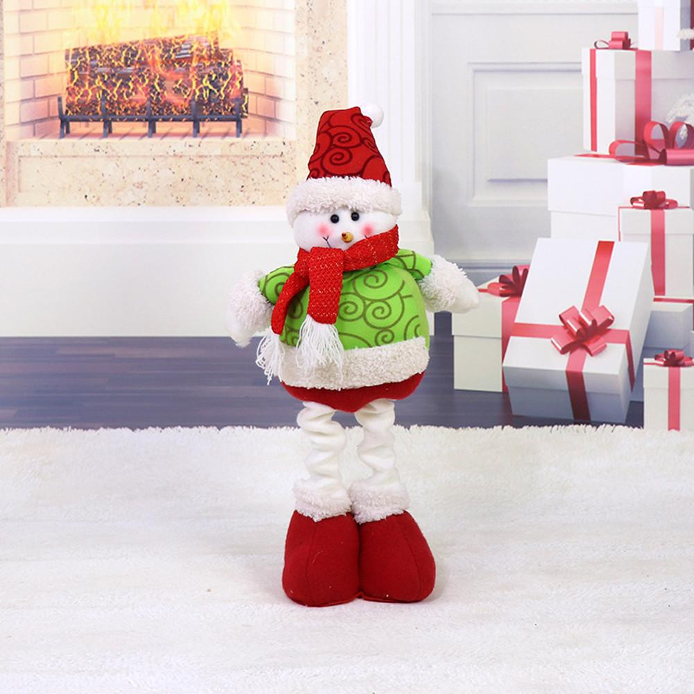 2018 Cute Christmas Decor Toy Doll Gift Home Children Kids Santa ...