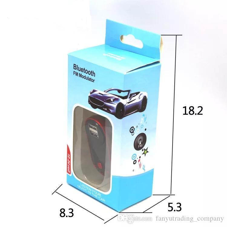 Modellatore senza fili del trasmettitore del FM FM del lettore MP3 dell'automobile di vendita calda 2018 del corredo di vendita calda con il telecomando che spedice liberamente DHL