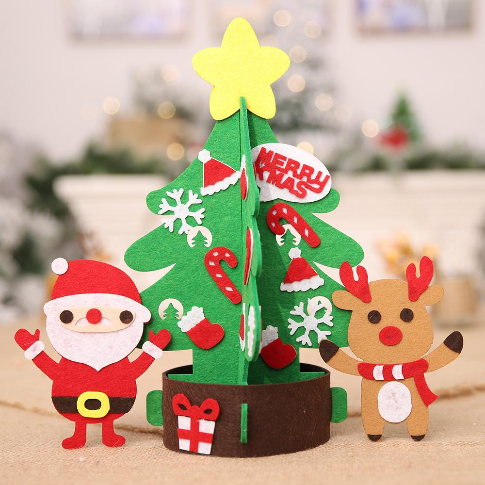 Christmas Crafts 2019 2019 DIY Craft Christmas Tree Ornaments New Year Gift Toys For