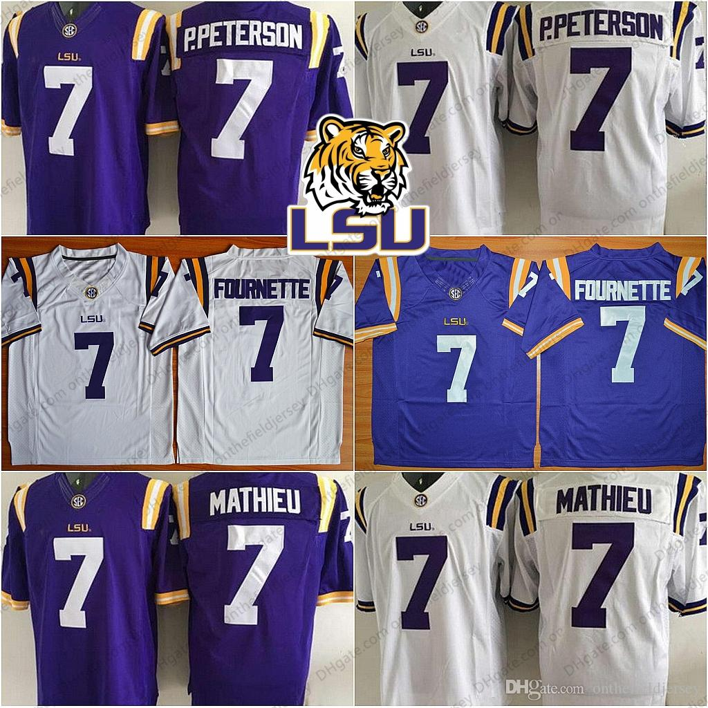 ad7903333 ... norway 2019 lsu tigers ncaa football 7 leonard fournette 7 patrick  peterson p.peterson 7