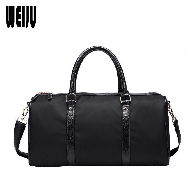 880b8839808 WEIJU Large Capacity Waterproof Travel Bag Business Nylon Hand Luggage  Duffle Bag Men Women Travel Bags Casual Shoulder Bags Buy Bags Online Bags  Online ...