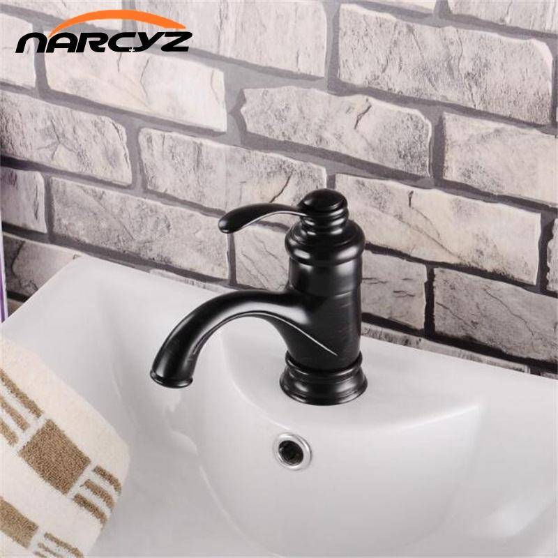 2018 Nordic Style Bath Mat Oil Bronze Faucet Grifos Para Lavabos ...