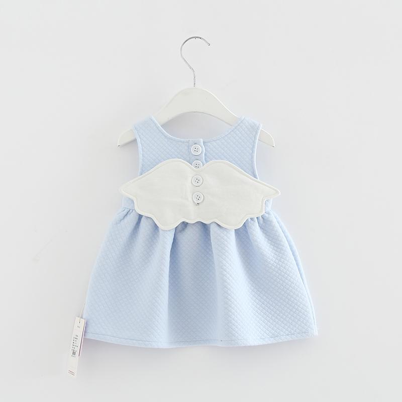 4e5c2ae78741d 2019 2017 Baby Angel Feathers Party Dress Princess Kids Children Infant  Baby Dresses Girls Dresses Newborn Clothes From Paradise02, $20.3 |  DHgate.Com