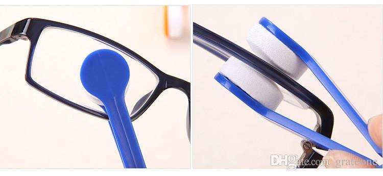 Óculos de sol Óculos De Microfibra Escova De Limpeza Nova Aleatória Envio De Vidro Dos Olhos Lentes de Óculos de Sol de Limpeza Limpa Toalhetes DHL