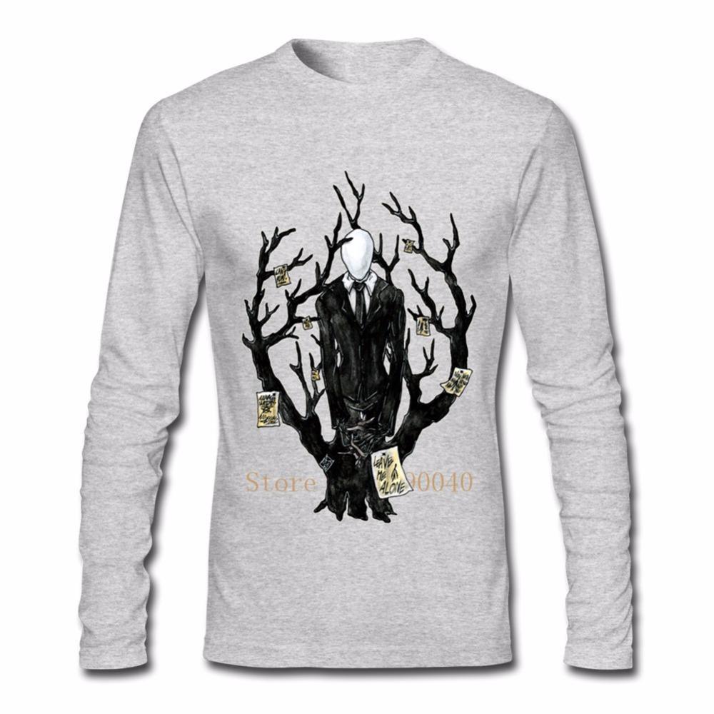 55b3cba7 Men'S Custom Long Sleeve Custom Retro Primer Tshirt Crazy Slenderman Tshirt  Men Boyfrend'S Gift Raid Shirt T Shirts In A Day From Saltblue, $28.56|  DHgate.
