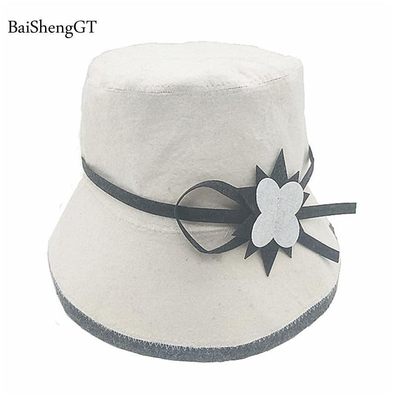 4bb8f373bd 2019 2018 Russian Style Wool Men Sauna Hat Anti Heat Cap For Bath House  Head Protector Caps Sauna Room Accessories Women Beanie Hats From Pearguo,  ...