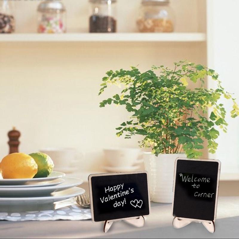 / set decorazione della festa nuziale mini lavagna lavagna sedile stand matrimonio retangle modello tag partito