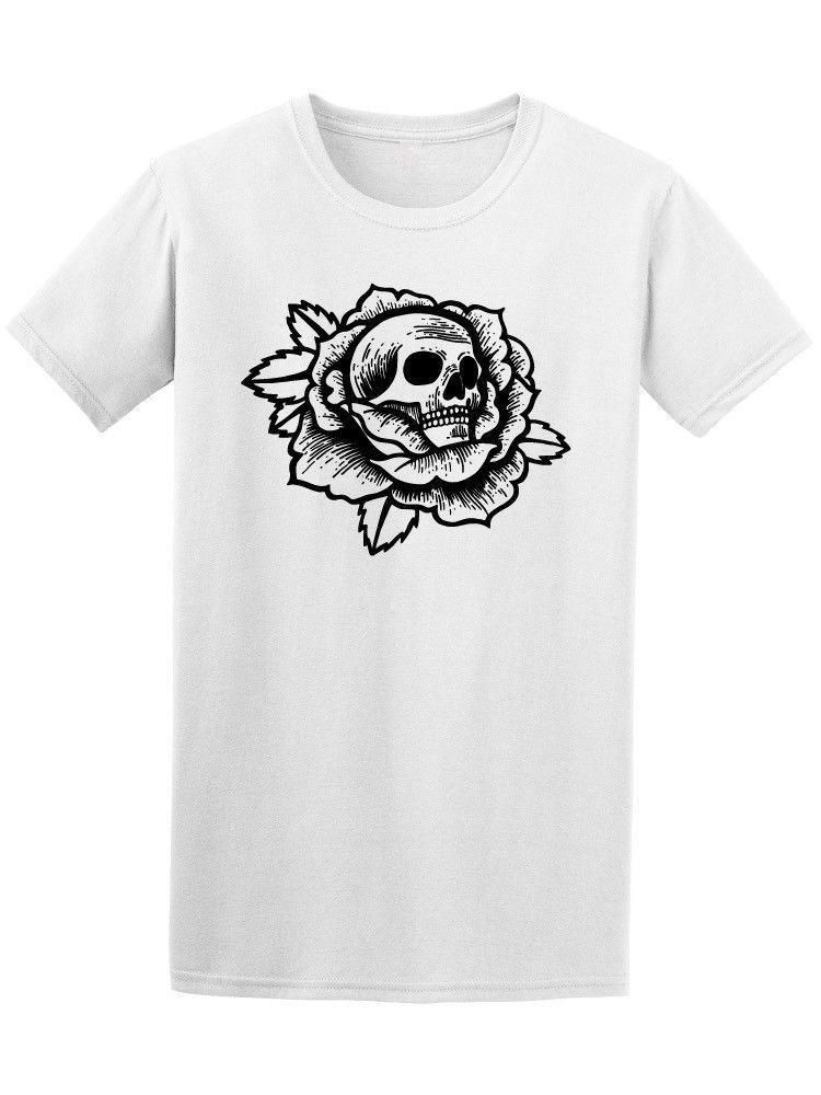Stampa Maglietta T Uomo Old School With Da Con Acquista Rose Shirt c1FlKTJ3
