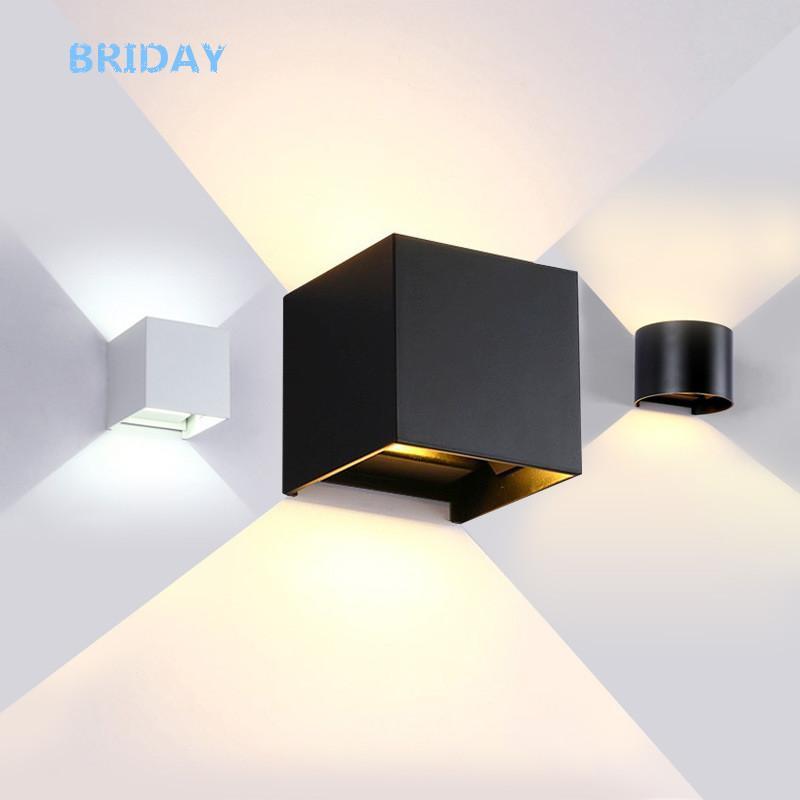 Großhandel 6W / 12W Lampe LED Aluminium Wand Lichtschiene Projekt ...