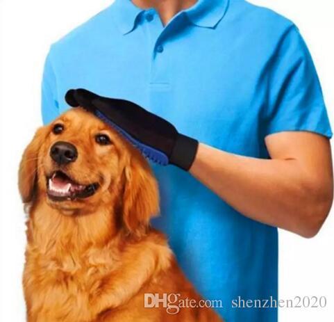 Pet Temizleme Fırçası Köpek Tarak Silikon Eldiven Banyo Mitt Pet Köpek Kedi Masaj Epilasyon Bakım Sihirli Deshedding Eldiven