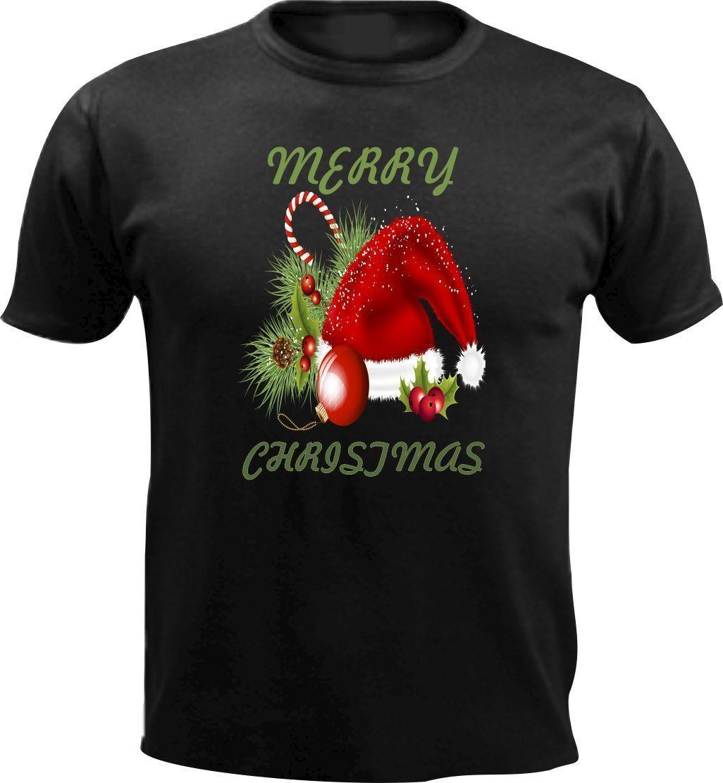 Frohe Weihnachten Männer Bilder.Frohe Weihnachten Hut Männer T Shirt Slogan Weihnachten Mode Geschenk Schnee Liebe Rot Baum 3xl Cartoon T Shirt Männer Unisex Neue Mode