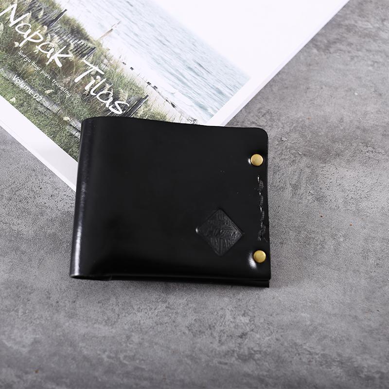 Gathersun marca 2017 nuovo arrivo originale design a mano in vera pelle casual breve portafoglio in pelle di mucca retro borsa gli uomini