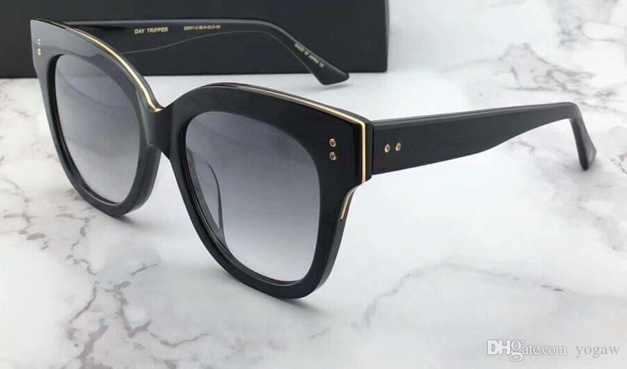 5b1e28ce61 Compre Gafas De Sol De Gran Tamaño Daytripper Black Frame / Grey Gafas De Sol  Gafas De Sol De Diseñador De La Marca De Lujo Para Mujeres Gafas De  Protección ...