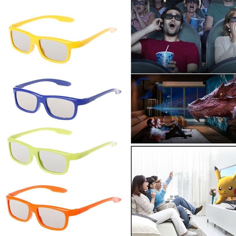 Compre Quadro Estereofónico Passivo Polarizado Circular Dos Vidros 3D  Pretos Para O Cinema Real Da Tevê De D 3D De Zealously ,  3.32    Pt.Dhgate.Com d665598fad