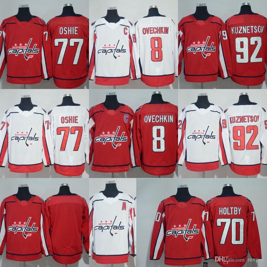 2019 2018 Hockey Jersey Washington Capitals 8 Alex Ovechkin 77 T.J. Oshie  70 Braden Holtby 43 Tom Wilson 19 Nicklas Backstrom 92 Evgeny Kuznetsov  From Mvpus ... 1fdba0301dc2f