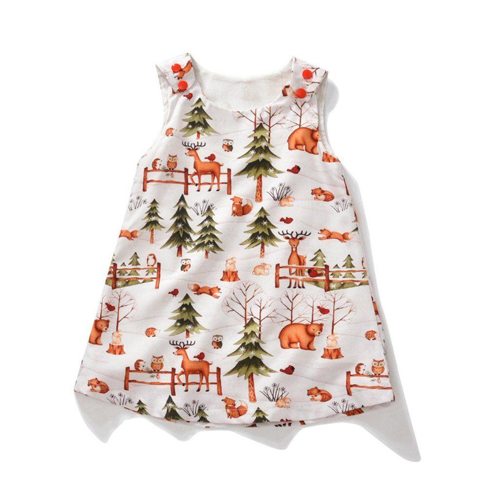 da83da3eef3c 2019 Baby Girls Summer Dress Casual Comfortable Newborn Infant ...