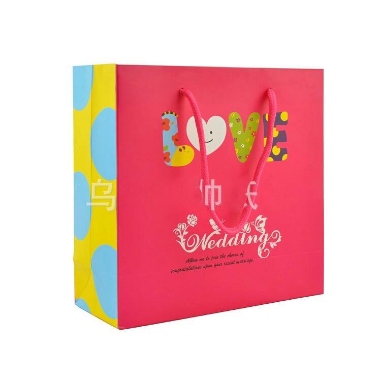 bolsa de papel de casamento europa prémio personalizado de impressão a cores OEM saco de papel de embrulho reciclado design personalizado disponível