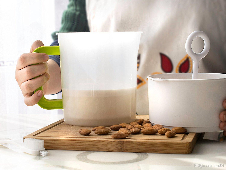 Latte di noci e filtro greco yogurt Latte di soia del filtro a coppa dopo il plasma tazza di latte di soia ogni succo di scoria filtrazione medicina