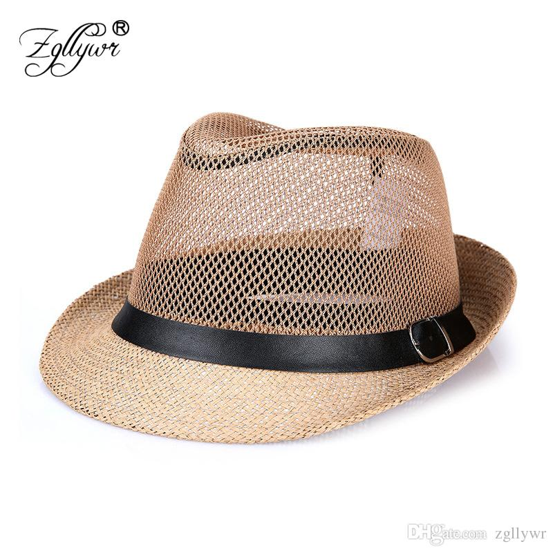 2019 Zgllywr Brand Summer Hats For Women Men Casual Solid Breathable Panama  Style Cowboy Caps Folding Bucket Sun Hats From Zgllywr dc423173a3cd