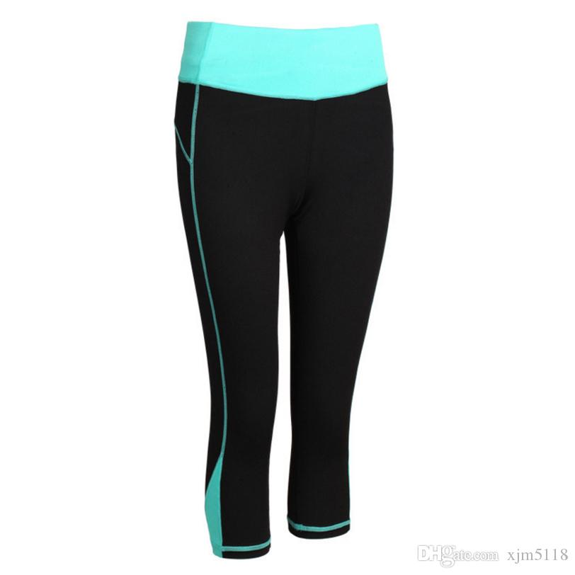 913d25ca0e 2019 RP11 Women Running Pants Compression Capri Pants Yoga Sports Tights  Trousers Sports Legging With Practical Pocket From Xjm5118, $11.29 |  DHgate.Com