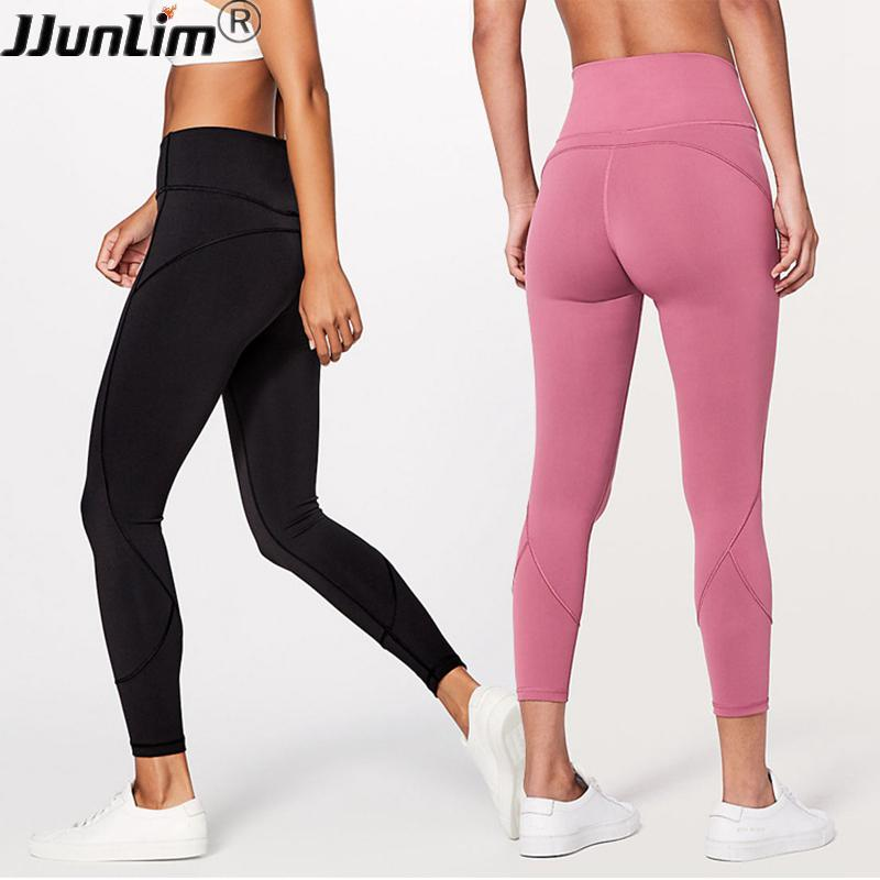 60c4393b5a3e6e 2019 Women Gym Yoga Pants High Waist Seamless Leggings For Fitness Push Up Compression  Workout Leggings Stretch Sports Running Pants From Cumax, ...