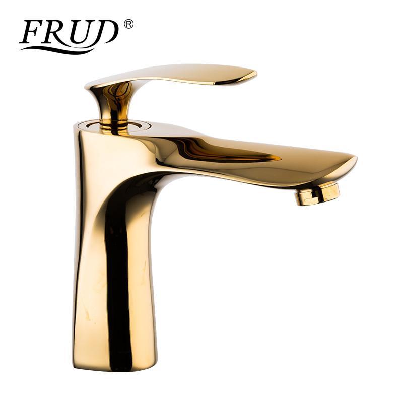 2018 Frud Single Handle Basin Faucets Mixer Bathroom Basin Tap ...