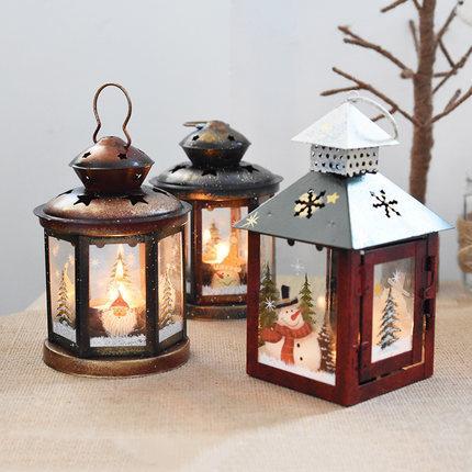 Addobbi Natalizi Vintage.Candeliere In Vetro Ferro Vintage Addobbi Natalizi Ornamenti Natale Dinne A Lume Di Candela