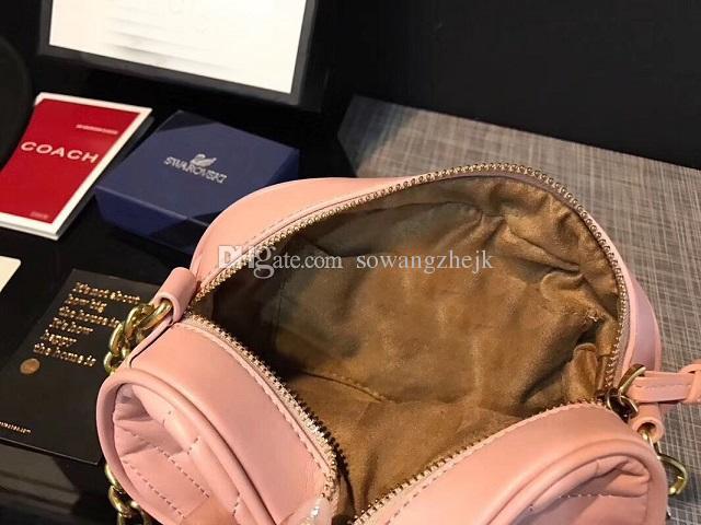 جديد وصول المرأة حقيبة يد جلدية أزياء ذات جودة عالية حقائب الكتف مصغرة 20CM كبيرة حقائب الكتف الجودة