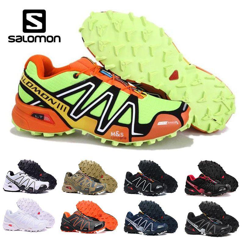 3 Sneakers Rouge Speed Salomon Acheter Hommes Cross Iii Noir Bleu xq8Yw