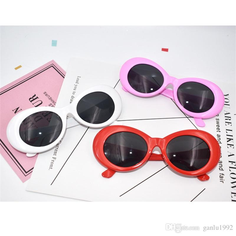 Funny Glasses Star Same Style Elliptical Sunglasses Creative Multi Color Men And Women Eyeglasses Novelty Party Props New Arrive 7 5sf Z