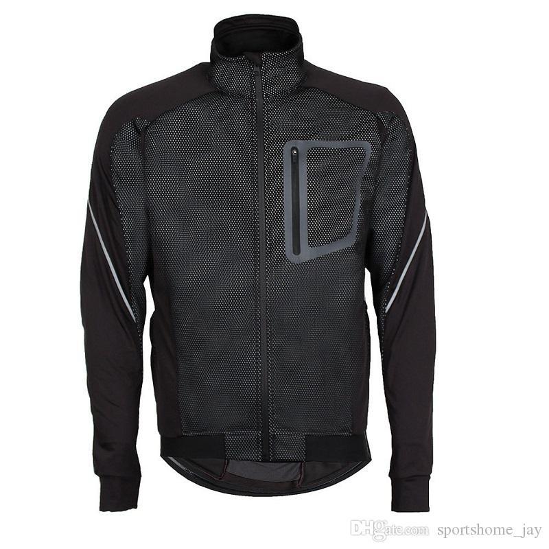 2018 ropa para hombre ciclismo chaquetas de ciclismo a prueba de viento abrigo impermeable mantener caliente verde azul rojo negro ropa de ciclismo de invierno