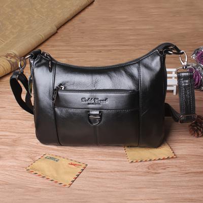 GOLD CORAL Woman Bag Leather Crossbody Bags For Women Ladies  Designer  Messenger Bags Female Shoulder Handbag Mother Sac Femme Italian Leather  Handbags Pink ... 454c3ce3e2