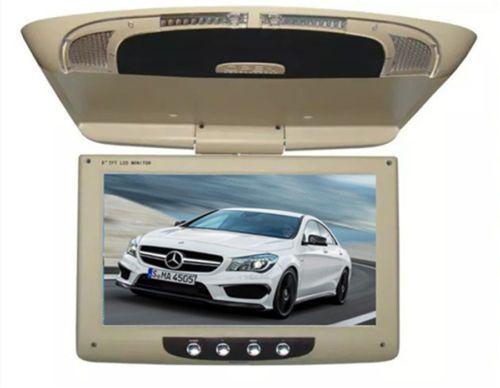 2018 12V 9 Screen Flip Down Roof Mount AV Monitor Overhead TFT LCD Car DVD Display From Daw54dsc12w32 201