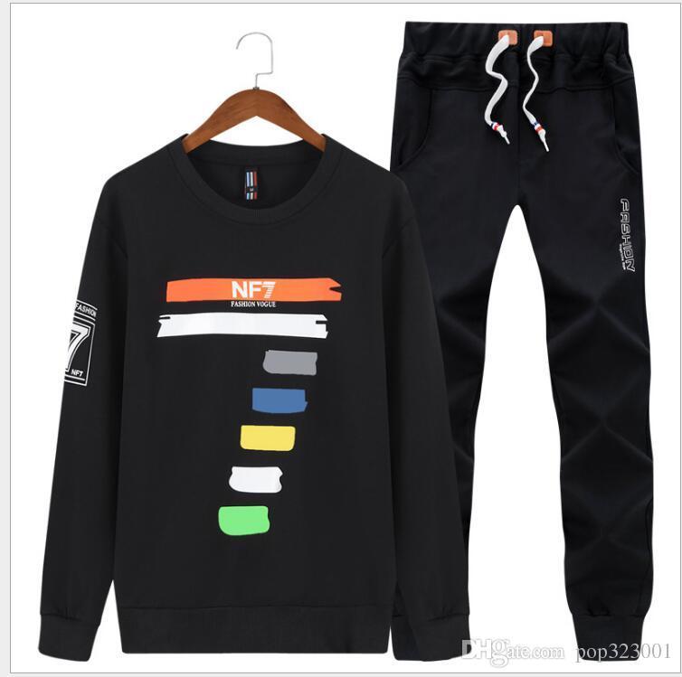 83a084d57a22 Brand Clothing Men s Sets Fleece Sportswear Sets Hoodie Men Winter ...