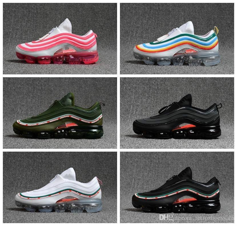 outlet with paypal cheap sale how much 2018 vapormax 97 Silver Black Pink White Green OG Running Shoes For men women new japan Vapormaxes Hybrid sports shoes size36-46 WITH BOX hot sale sale online clearance professional new xMT0HjRaD