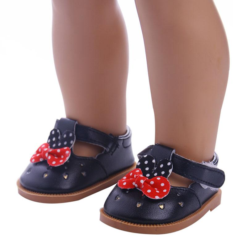 "Various styles of shoes Doll Shoes for fit 18"" American Girl doll , 43cm Baby Born zapf Doll Accessories Shoes"