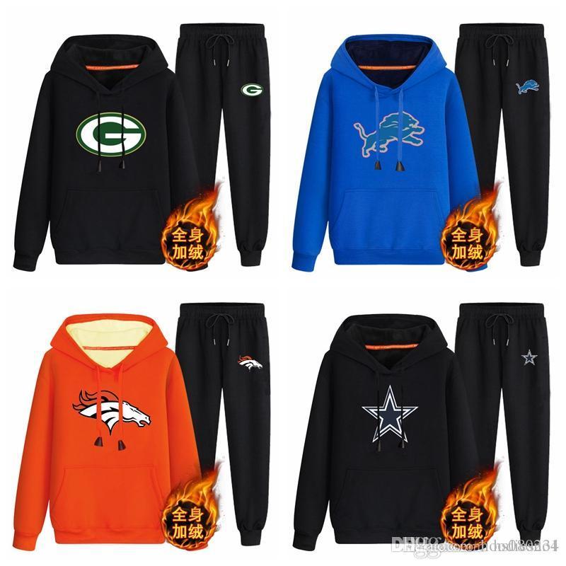 ca39715582bf2e Green Bay Packers Detroit Lions Denver Broncos Dallas Cowboys Black ...
