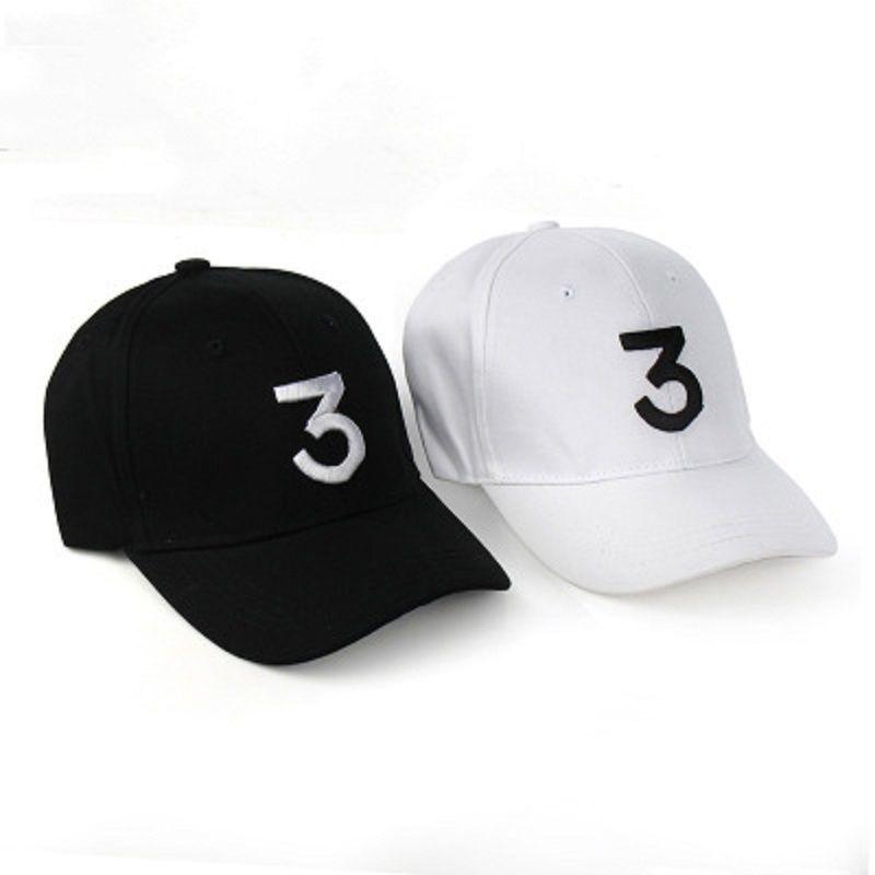 899c1fcb8b9 Chance 3 F1 Rapper Baseball Cap Letter Embroidery Snapback Caps Men ...