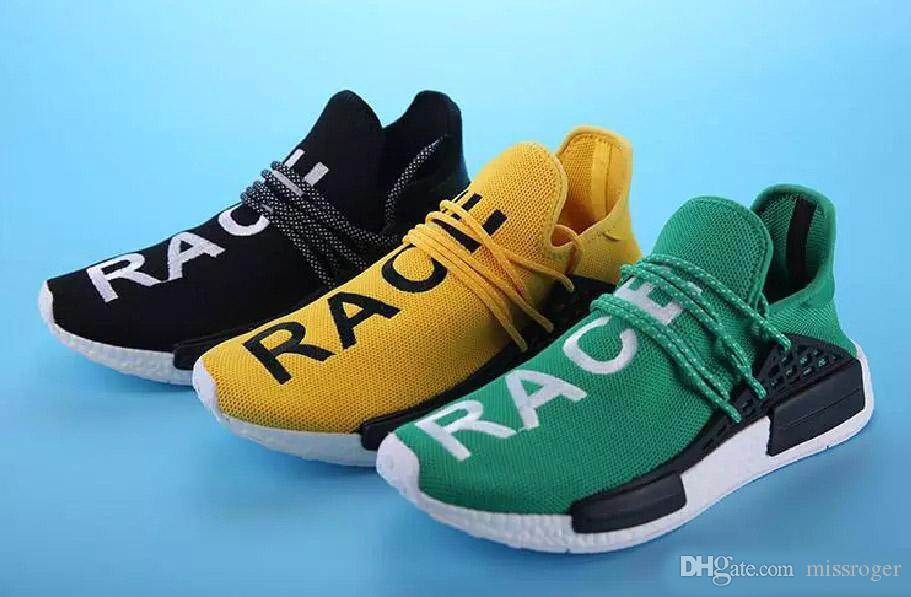 2019 New Human Race Pharrell Williams Sports Running Shoes ca6185eb1e5c