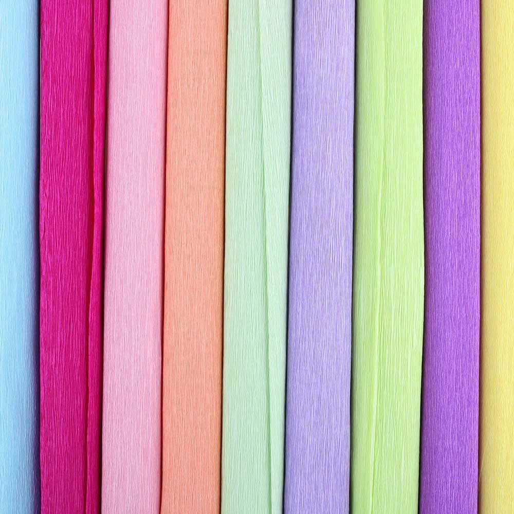 1 Unid Romántico DIY Envoltura de Flores Papel de Crepé Envoltura de Regalos Rollo de papel Streamer Suministros de Fiesta de Cumpleaños de Boda Decoración