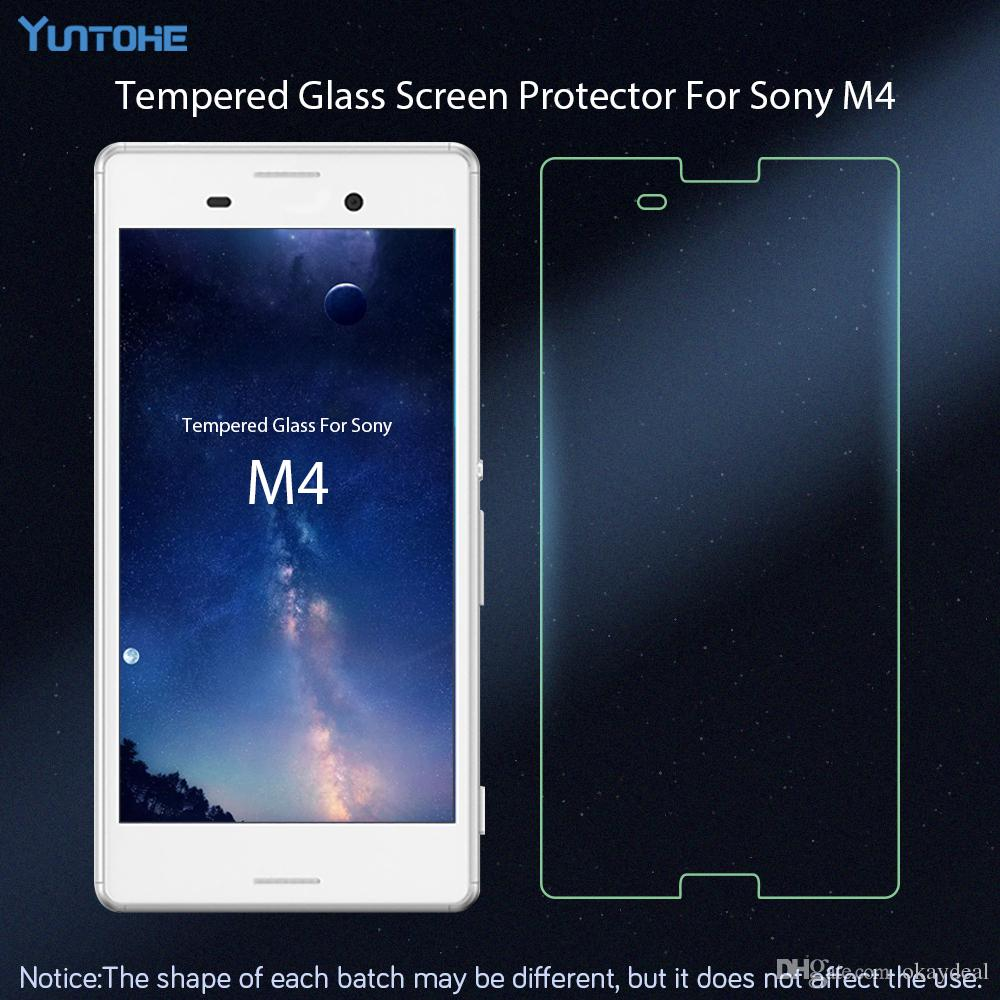 For Glass Sony Xperia M4 Screen Protector Tempered Glass For Sony Xperia M4 Glass Film Phone For Sony M4