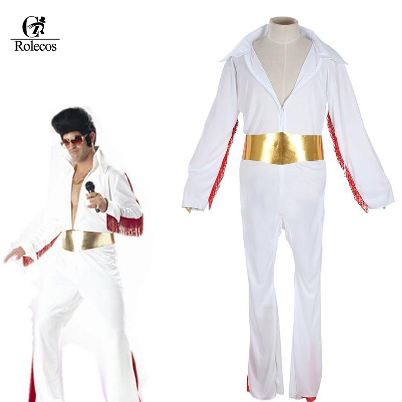 Classic Singer Cat King Elvis Presley Cosplay Costume White Halloween  Costume For Men Adult Halloween Themed Dresses Best Party Costumes From  Clothwelldone d42ee7bf7
