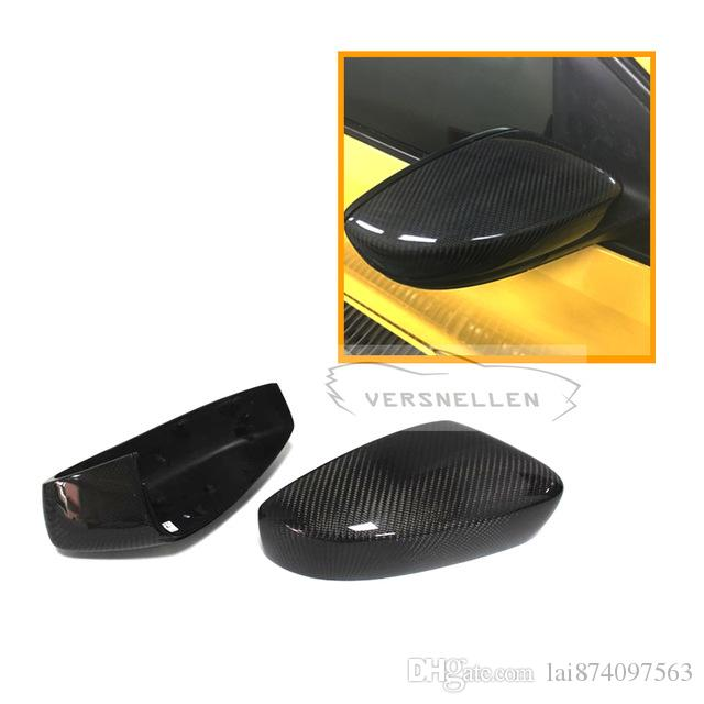 Carbon Mirror Caps 1:1 Replacement OEM Fitment Side Mirror Cover for Volkswagen POLO 20112012 2013