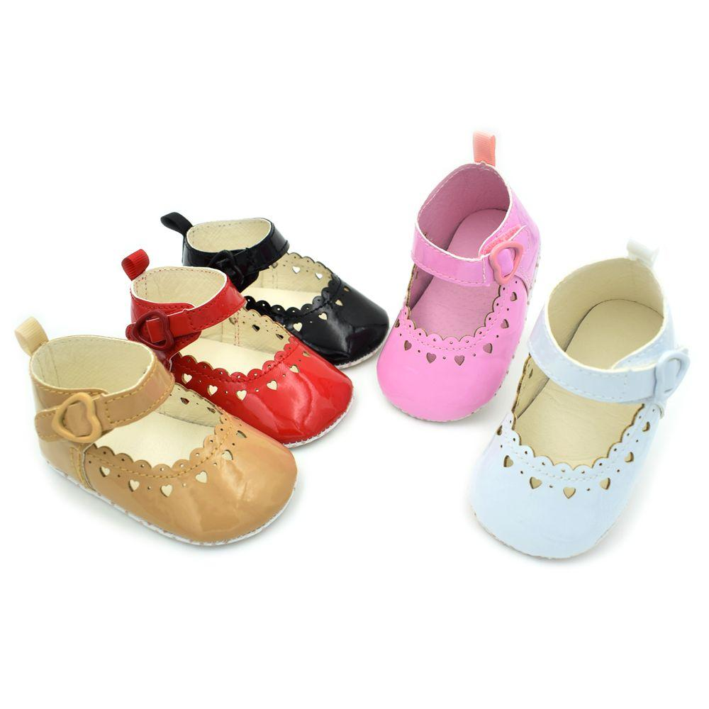 Summer Fashion Baby Girls Cute Polka Dot Shoes Lovely Infant First Walkers Cute Soft Sole Toddler Baby Shoes Hot Sale In Many Styles First Walkers