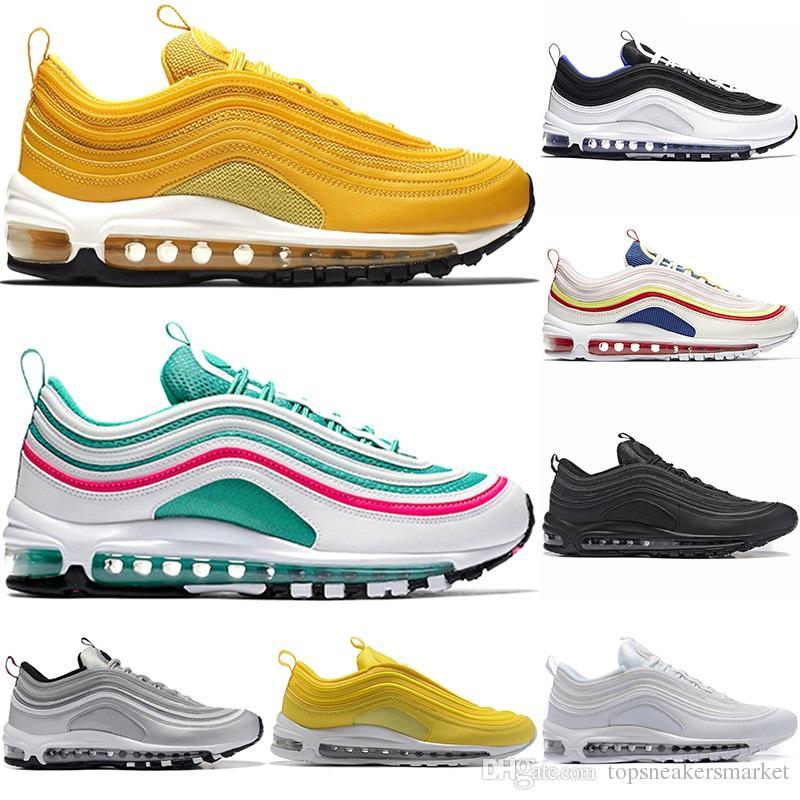 Designer 97 Men Women Running Shoes Mustard Yellow South Beach SE ... 4fe6ccf44
